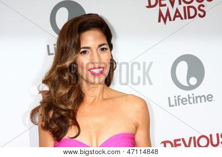 LOS ANGELES - JUN 17:  Ana Ortiz arrives at the