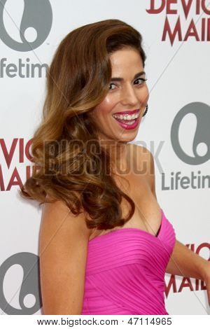 LOS ANGELES - JUN 17:  Ana Ortiz arrives at the