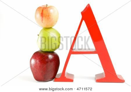 A For Apple Right