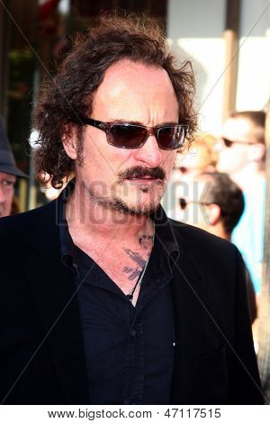 LOS ANGELES - JUN 22:  Kim Coates arrives at the World Premiere of