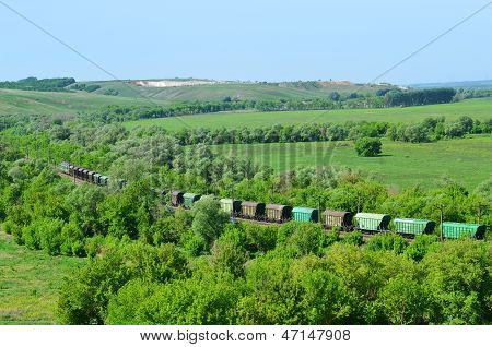Freight transport by rail