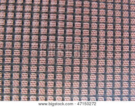 lattice of rubber