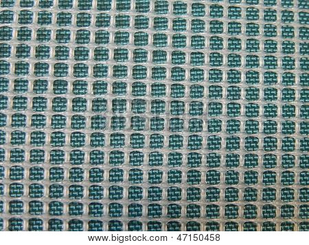 pattern of white rubber
