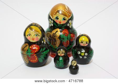 The Matryoshka And Her Children
