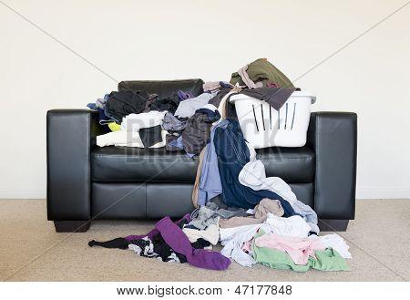 Pile Of Washing