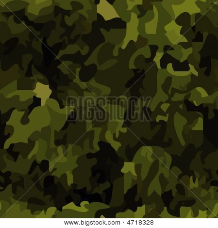 Seamless Camouflage Background