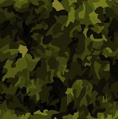 Seamless camouflage background. Please check my portfolio for more seamless illustrations. poster