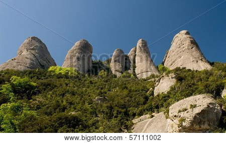 Hills In Spain