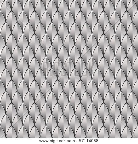Silver Reptile Skin