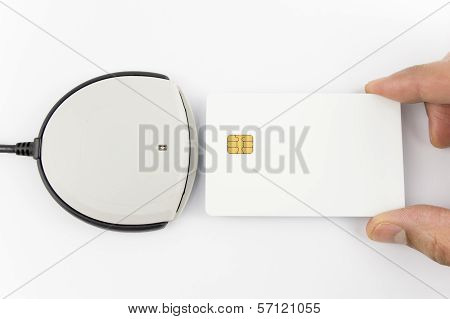 Card Reader With Copy Space