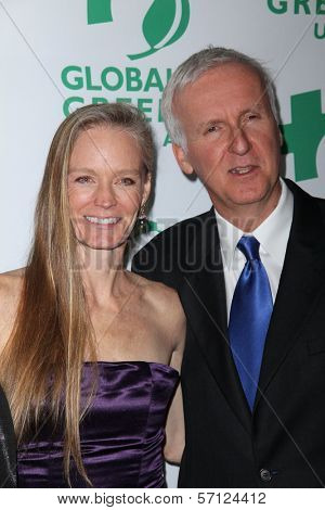 Suzy Amis and James Cameron at Global Green USA's 8th Annual Pre-Oscar Party, Avalon, Hollywood, CA. 02-23-11