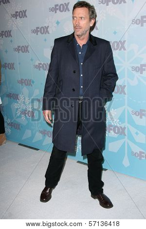 Hugh Laurie at the 2011 FOX Winter All-Star Party, Villa Sorriso, Pasadena, CA. 01-11-11