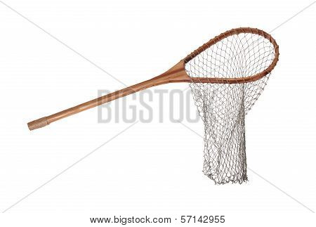 Old Wooden Fishnet