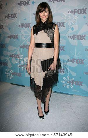 Emily Deschanel at the 2011 FOX Winter All-Star Party, Villa Sorriso, Pasadena, CA. 01-11-11