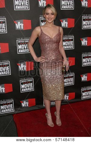 Jennifer Lawrence at the 16th Annual Critics' Choice Movie Awards Arrivals, Hollywood Palladium, Hollywood, CA. 01-14-11
