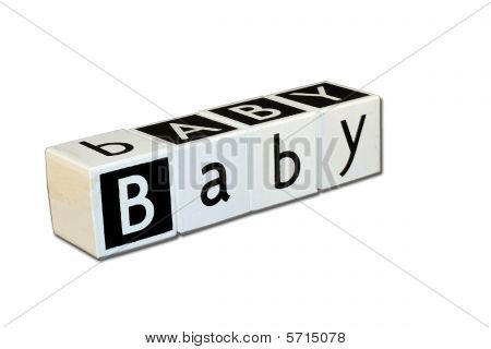 Children's Blocks - Word Baby