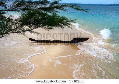 Broken fishing boat
