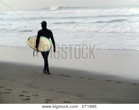 Never Too Cold To Surf