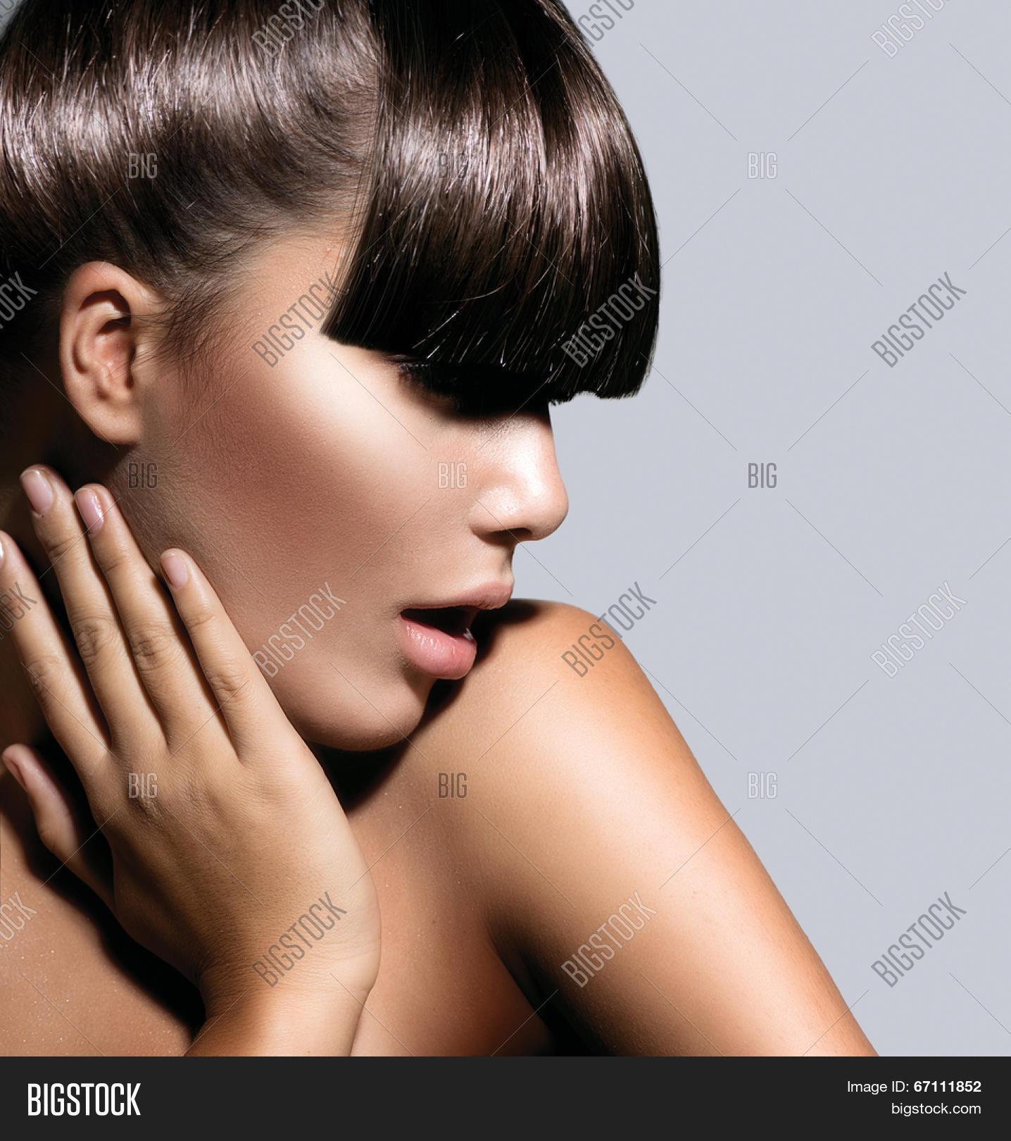 Fringe Fashion Model Image Photo Free Trial Bigstock