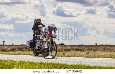 The Cyclist Van Den Broeck Jurgen