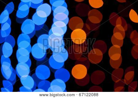 Blue and yellow abstract background
