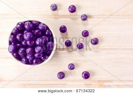 Picked Blueberries
