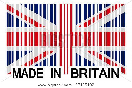 Barcode - Made In Britain