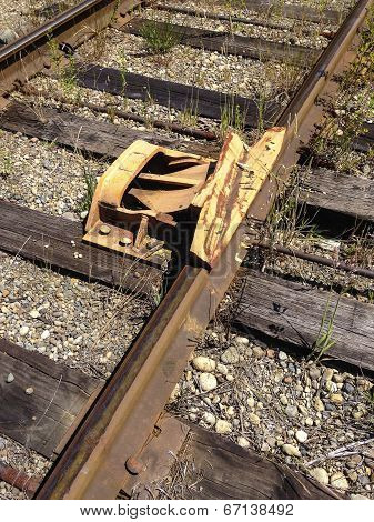 Railroad Car Derailer Safety Device 2