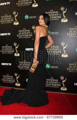 LOS ANGELES - JUN 22:  Camila Banus at the 2014 Daytime Emmy Awards Arrivals at the Beverly Hilton Hotel on June 22, 2014 in Beverly Hills, CA