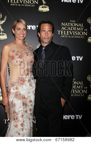 LOS ANGELES - JUN 22:  Arianne ZUcker, Shawn Christian at the 2014 Daytime Emmy Awards Arrivals at the Beverly Hilton Hotel on June 22, 2014 in Beverly Hills, CA