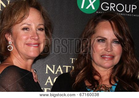 LOS ANGELES - JUN 22:  Hilliary B. Smith, Crystal Chappell at the 2014 Daytime Emmy Awards Press Room at the Beverly Hilton Hotel on June 22, 2014 in Beverly Hills, CA