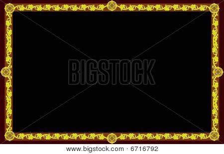 Golden frame (divine proportion)