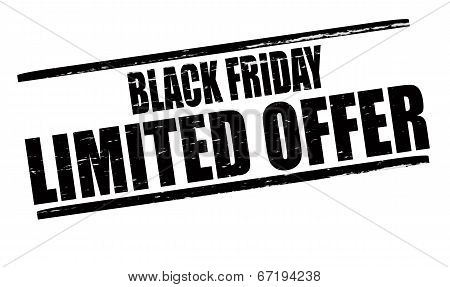 Black Friday Limited Offer
