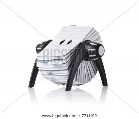 Rolodex, Isolated
