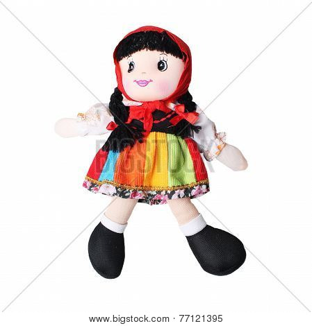 colorful handmade doll for baby girls