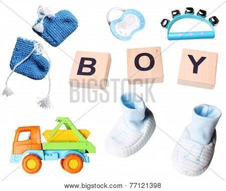 set for newborn baby boys
