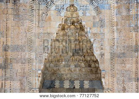 entrance to the Sultanhani caravansary on the Silk Road Turkey