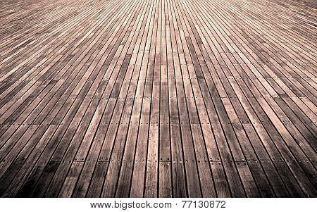 Overworked free wooden floor