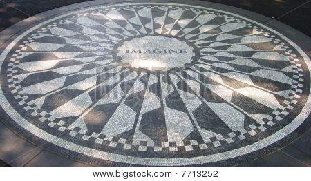 Strawberry Fields mosaic, NYC