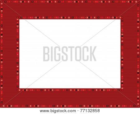 Red Gem Frame