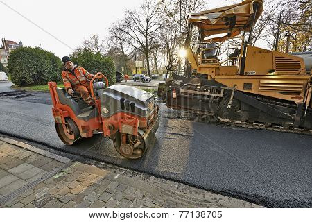 Road Construction And Renewal