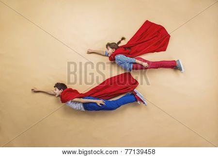 Children as superheroes