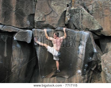 Rock Climber Stretches