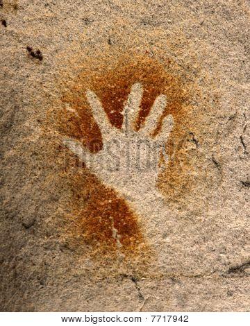 Hand - Rock Art