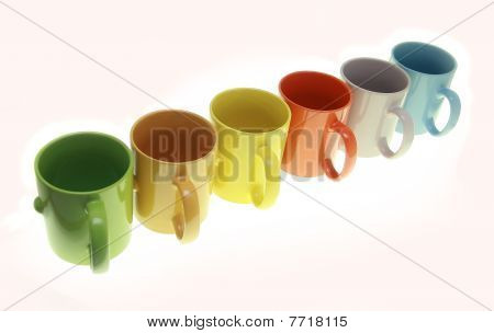 Cups Of Colours