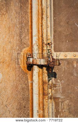 door and key