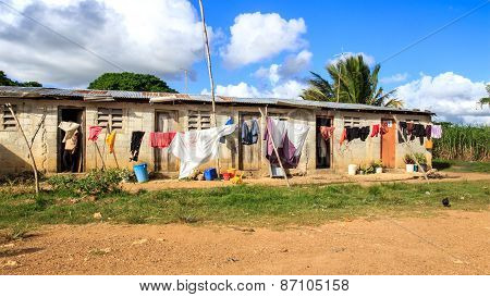 Haitian Refugee Camp In Dominican Republic