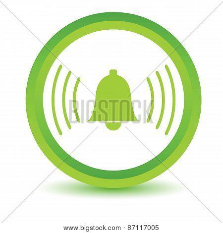 Green alarmclock icon