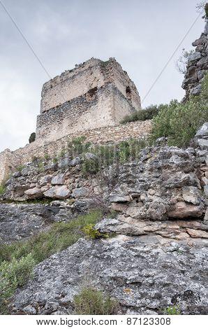 Castle Tower In Ocio