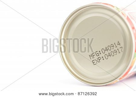 Macro Expiration Date On Canned Food